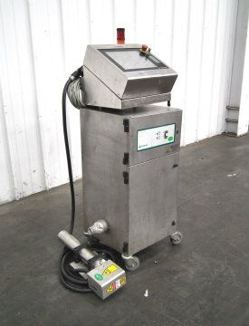Domino DPX 500 Laser with Fume Extraction