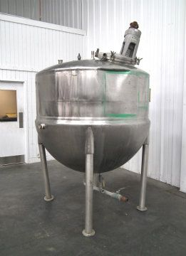 Lee 630 Gallon Stainless Jacketed Kettle