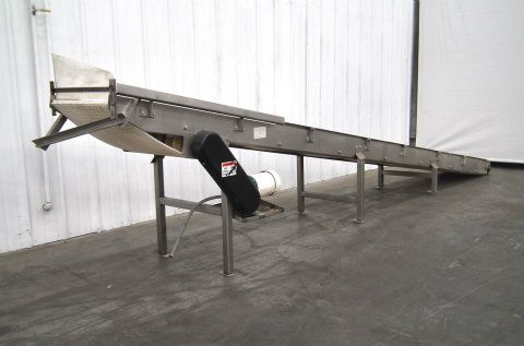 CPI Plastic Chain Incline Conveyor