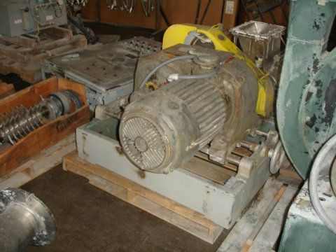 Fitzmill Model DKAO12 SS Mill with Gravity Feed