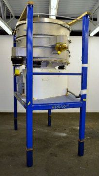Vorti-Siv 48in Dia Two Deck Sieve Screener Sifter
