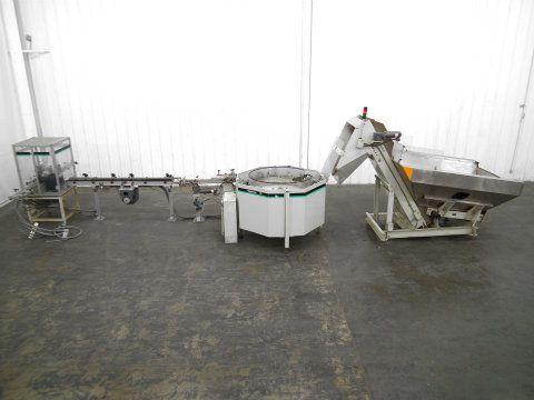 Hoppmann Bowl Unscrambler and Outfeed Conveyor