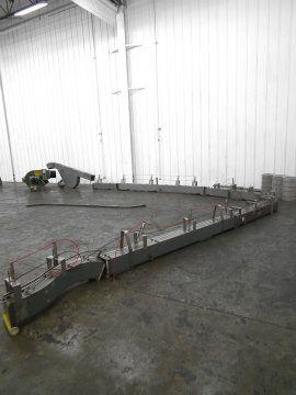Nercon Airveyor Air Conveyor for Overhead Cap Conv