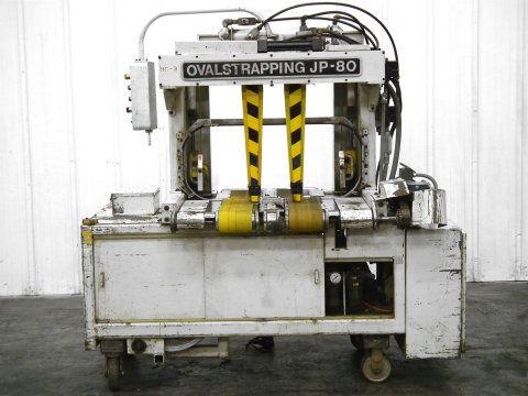 JP-80MC Oval Strapping Bundle Machine