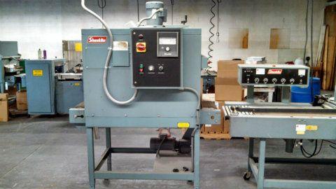 used s24b t7 shanklin s24b heat sealer w t 7 tunnel rh sigmaequipment com
