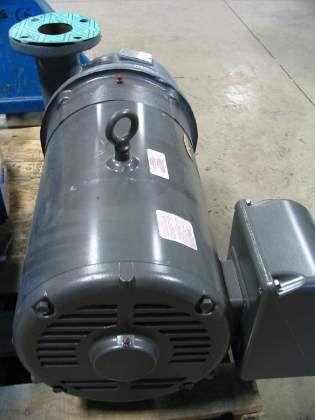 Used peerless pump c830am with 40 hp baldor pump motor Baldor industrial motor pump