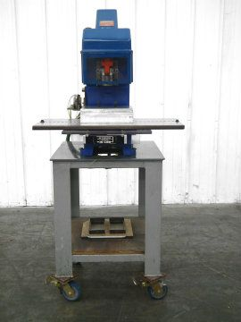 Danly Pneumatic Driven Press with Die Cut Tooling