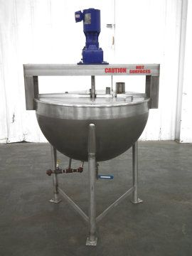 80 Gallon Jacketed Mixing Kettle
