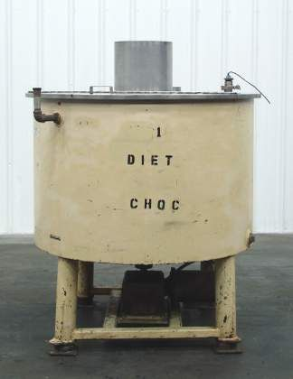 JW Greer Chocolate Jacketed Mix Tank