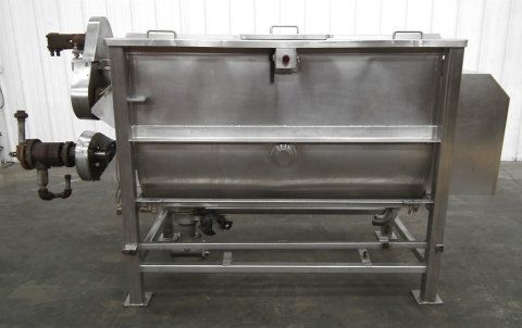 L  A 350 Gallon Stainless Cooker Rotary Agitator