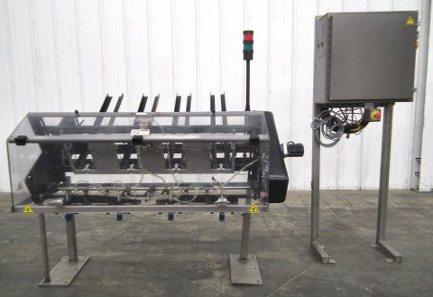 Graphic Packaging Clamshell Denester 4 Lanes