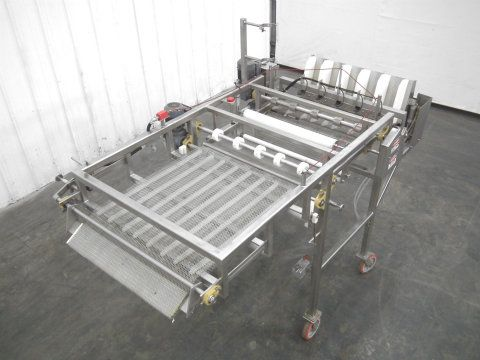 used french toast batter system wire mesh conveyor. Black Bedroom Furniture Sets. Home Design Ideas