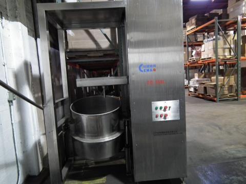 Jiangmen Vertical Mixer 250 Liter Capacity