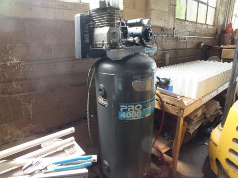 Used Devilbiss Pro 4000 Air Compressor