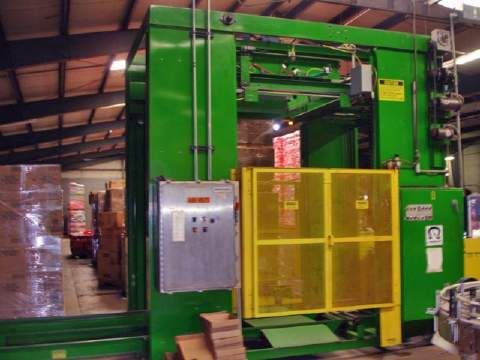 OMS Model BDK-500 Low Level Bulk Depalletizer