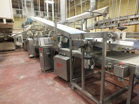 Moline Bread Line Extruder Sheeter Cutter