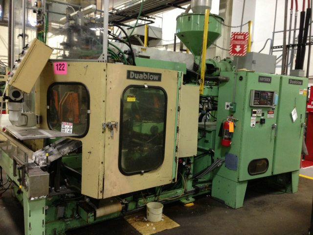 Hayssen 3100 Duablow Injection Molding Machine