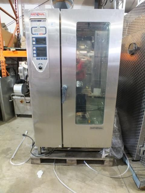 Rational CPC 201G Stainless Steel Single Rack Oven