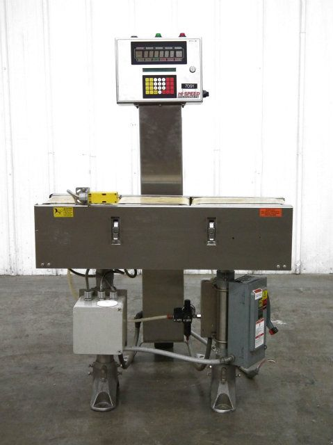 Used Mettler Toledo Hi-Speed Checkweigher CZ3110GI
