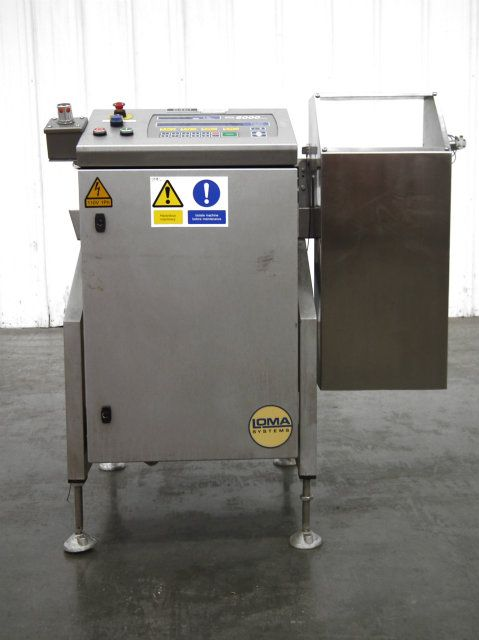 Loma 6000 Series Checkweigher Three Belt w Reject