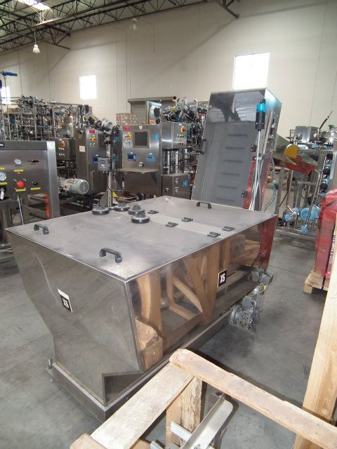 Comas Stainless Steel Hopper and Cap Elevator