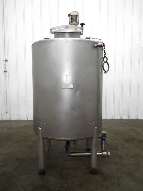 470 Gallon Stainless Steel Mix Tank with Paddle