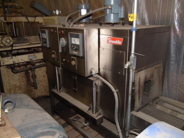 Shanklin T62 V Stainless Steel Heat Shrink Tunnel