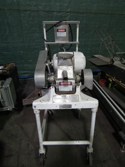 FitzMill Model D Comminuting Machine