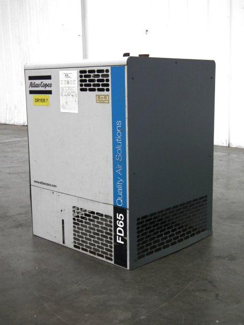 Atlas Copco Refrigerant Air Dryer FD65
