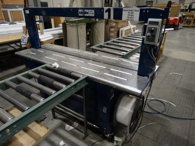 Used Polychem PC 1000 Case Strapper
