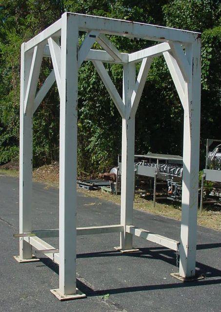 Control and Metering Super Sak Hanger Frame