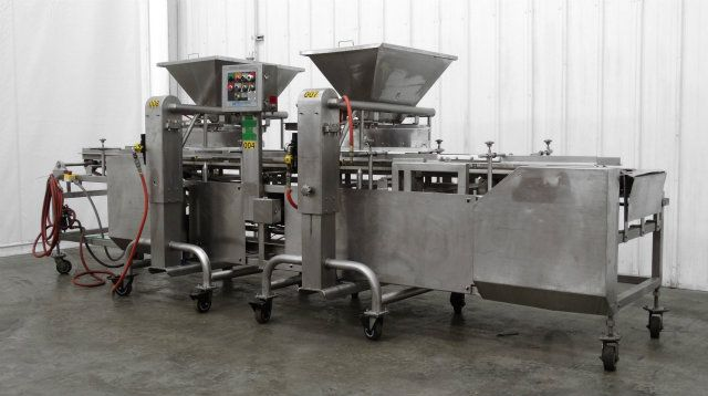 Hinds-Bock Dual Depositor 4P-04 Cheesecake Line