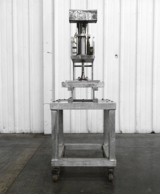 Dough Press w CSV-101LS Two Hand Safety Actuator