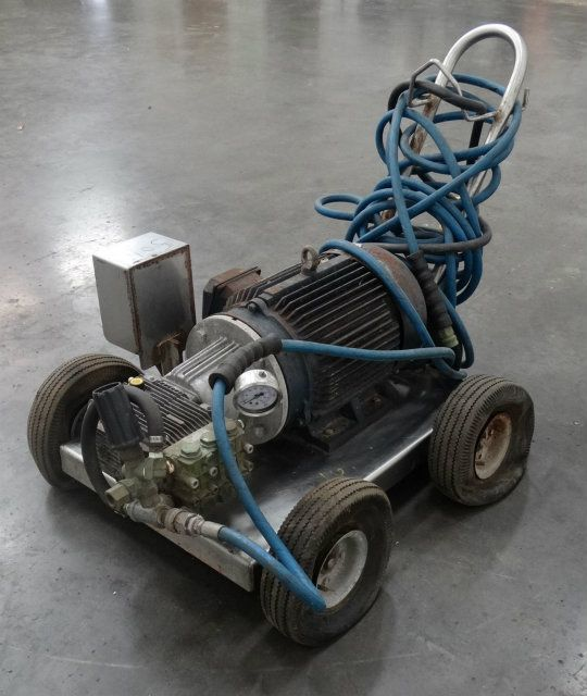 Cart Mounted 75 Horsepower Pressure Washer