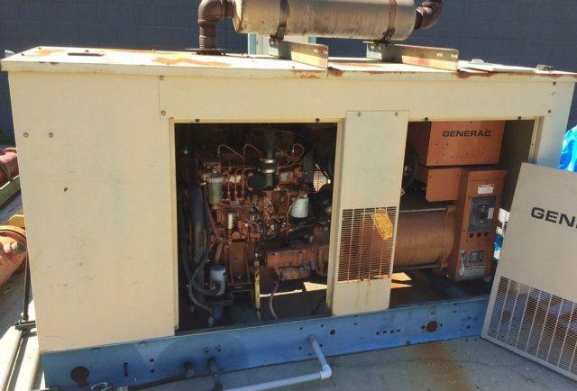 Generac 91A03009-S Back-Up Generator