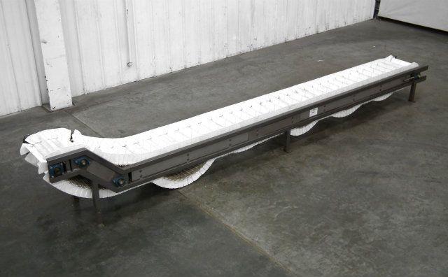 Cleated Intralox Belt Conveyor 16
