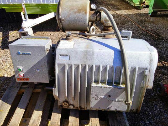 Busch Vacuum Pump 15 HP Toshiba Motor
