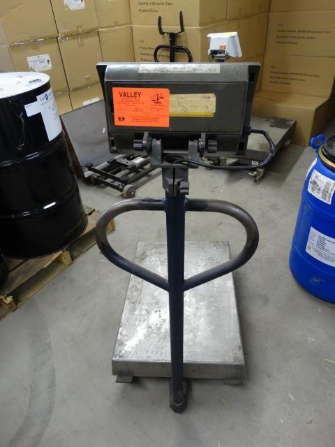Used Mettler Toledo Wildcat Cart Mounted Scale