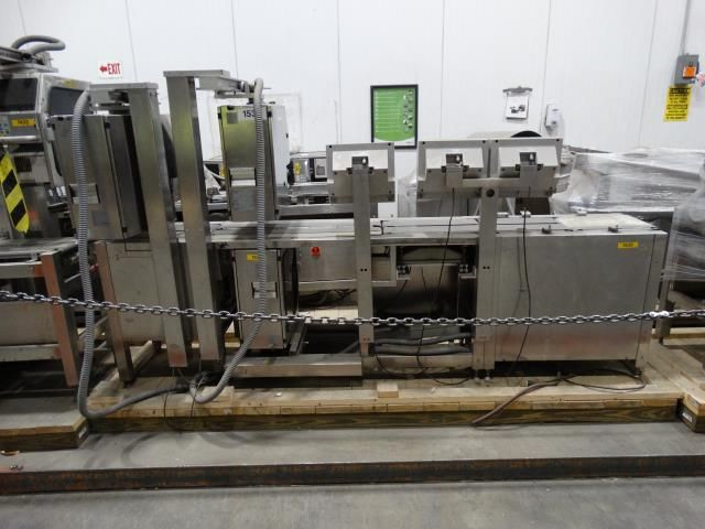 Bizerba GS 2 Head Combination Checkweigher Labeler