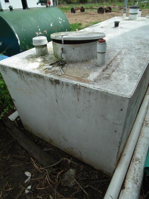 Used 500 Vt 500 Gallon Csi Hoover Vault Diesel Fuel Tank