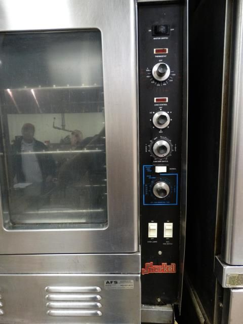 Used Vulcan Snorkel Commercial Gas Double Oven