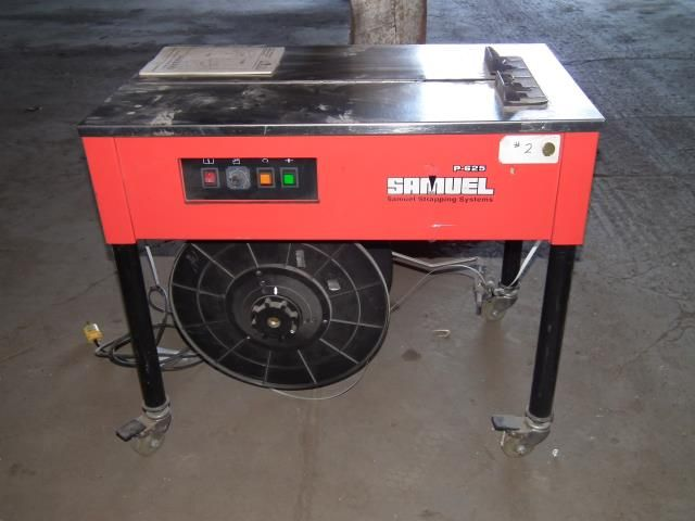 Samuel P-625 Semi-Automatic Strapping Machine