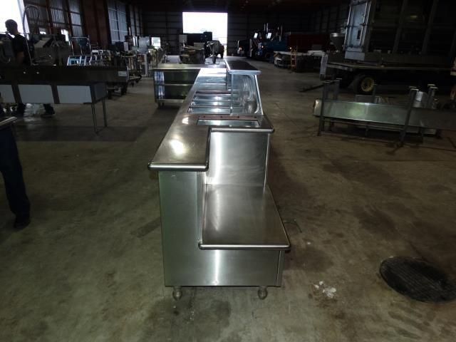 Used Thurmaduke Cc4sr Gas Steam 4 Well Buffet Table