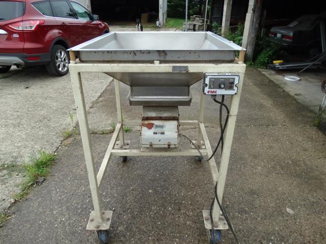 Stainless Steel Vibratory Hopper
