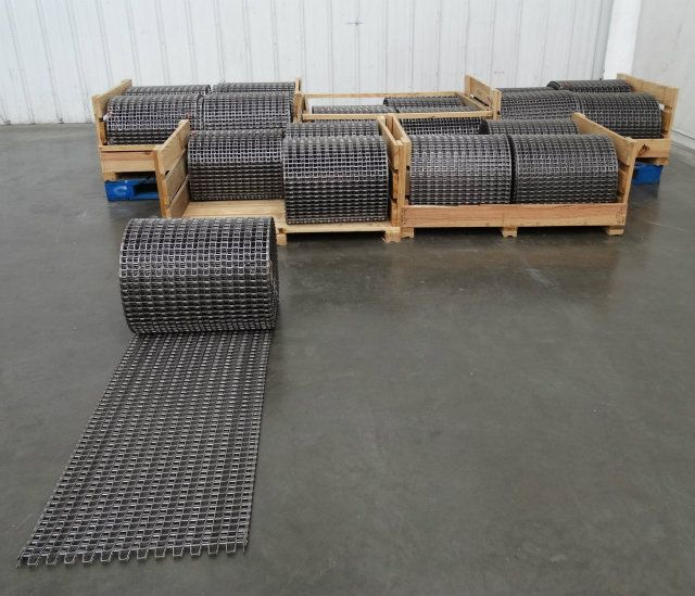 Cambridge Stainless Mesh Conveyor Belting 900 Ft