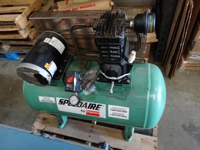 used speedaire 4b237c 30 gallon air compressor rh sigmaequipment com