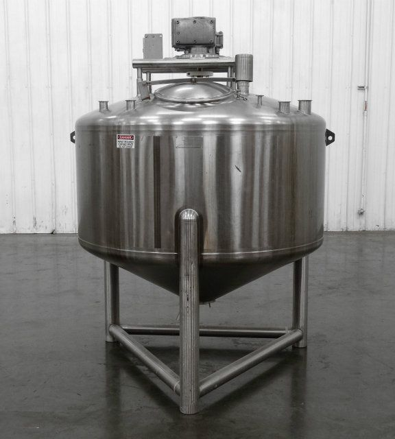 Cherry-Burrell 590 Gallon Stainless Steel Tank