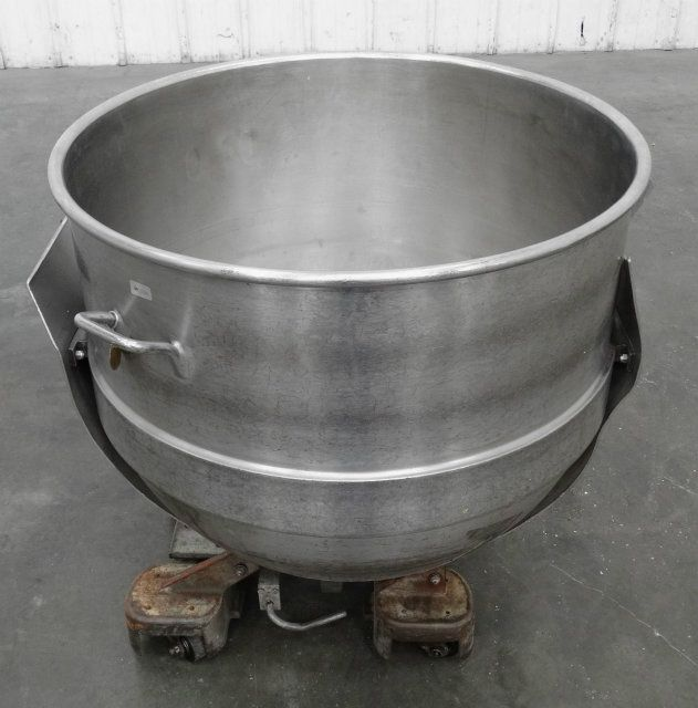 110 Gallon Stainless Steel Mixing Bowl