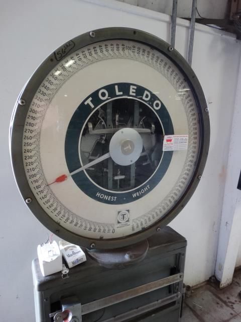 Used Toledo Platform Scale Model 2191