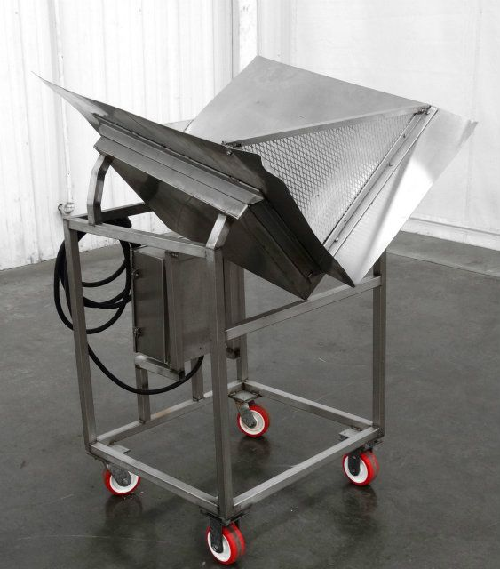 Stainless Steel Butter Melt Process Hopper